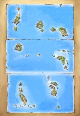 Ilustración de las Islas Sete