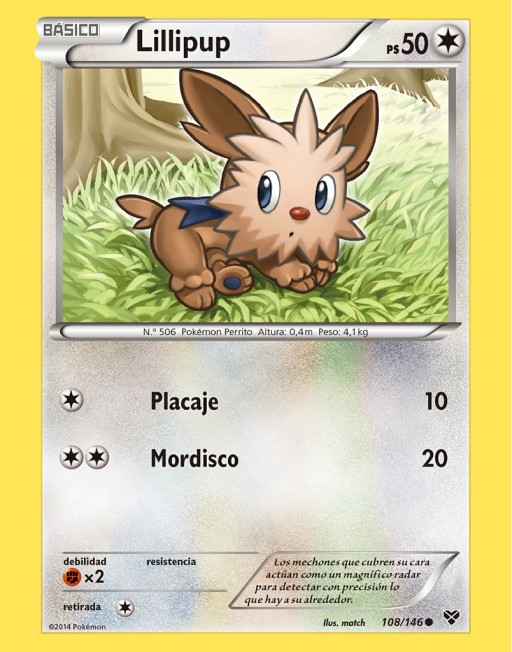 Lillipup (TCG XY).png