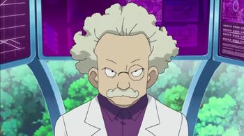 El profesor Zager de frente