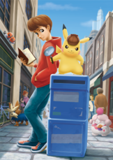 Artwork Detective Pikachu