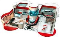 Artwork interior centro Pokémon XY