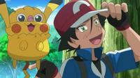 EP833 James e Inkay disfrazados de Ash y Pikachu