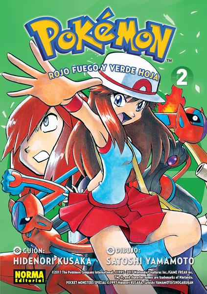 Tomo 2 (Pokémon Rojo Fuego y Verde Hoja)