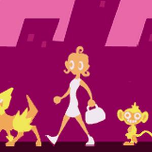 Lucy con sus Pokémon.png