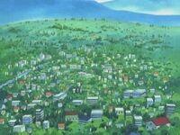 EP279 Ciudad Petalia en el anime