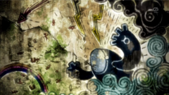 SME03 Pintura rupestre de Kyogre primigenio
