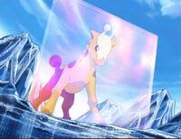 EP407 Girafarig de morrison usando pantalla luz