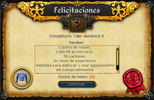 Taller elemental 3