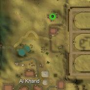 Fire altar location