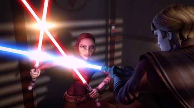 Duelo en el Templo Jedi