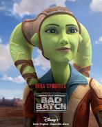 Star Wars The Bad Batch Hera Syndulla posterLA