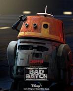 Star Wars The Bad Batch Chopper posterLA