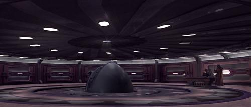 Sala de espera del Senado