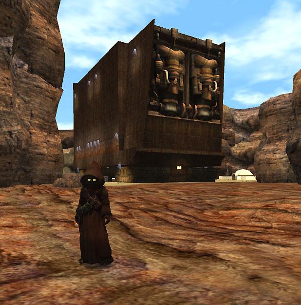 Misión a Tatooine (crisis de los Discípulos de Ragnos)