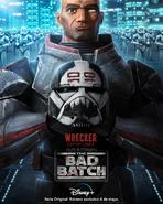 Star Wars The Bad Batch Wrecker posterLA