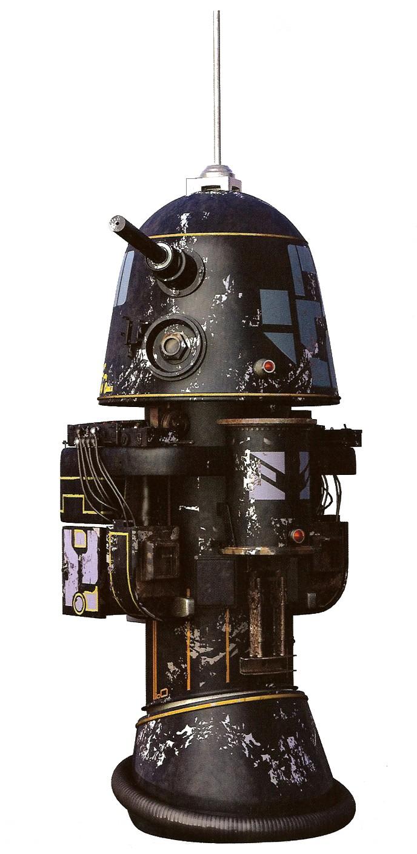 Droide astromecánico serie R1
