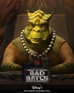 Star Wars The Bad Batch Cid posterLA