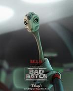 Star Wars The Bad Batch Nala Se posterLA