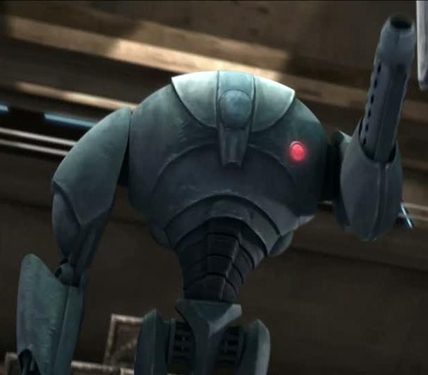 Súper droide de combate B2 comandante (Tranquilidad)