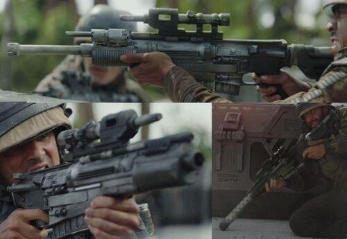 Rifle bláster A-300