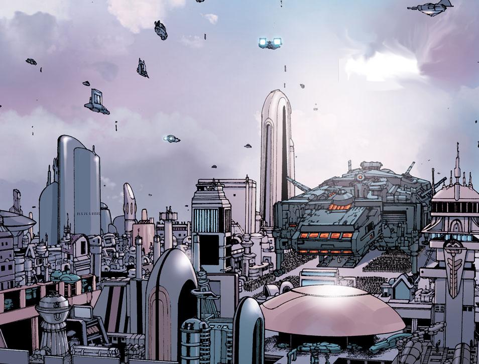 Conferencia de Paz en Alderaan