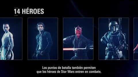 CuBaN VeRcEttI/John Boyega presenta todos los modos y mapas de Star Wars Battlefront II
