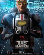 Star Wars The Bad Batch Tech posterLA