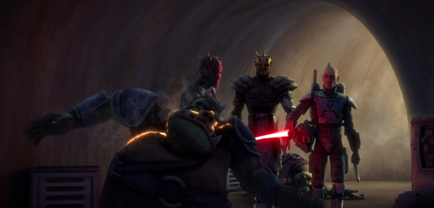 Ataque al Palacio de Jabba/Leyendas