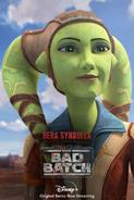 Star Wars The Bad Batch Hera Syndulla poster