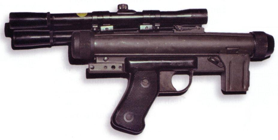 Pistola bláster SE-14C/Leyendas