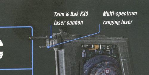 Cañón láser KX3