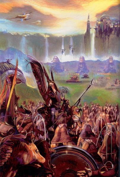 Invasión de Naboo/Leyendas