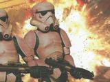 Ataque contra droides interrogadores Imperiales
