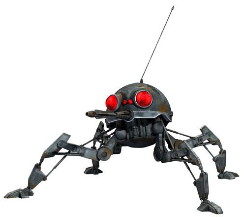 Droide araña enano DSD1/Leyendas