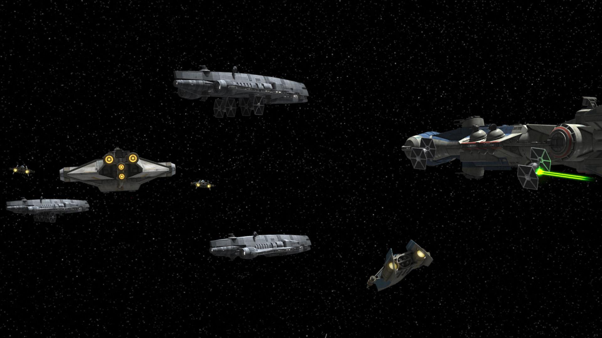 Misión para robar generadores de escudos Imperiales