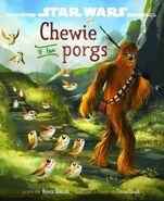 Chewie y los porgs cubierta