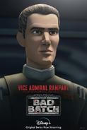 Star Wars The Bad Batch Rampart poster