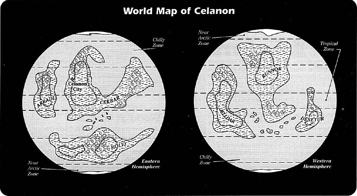 Celanon/Leyendas