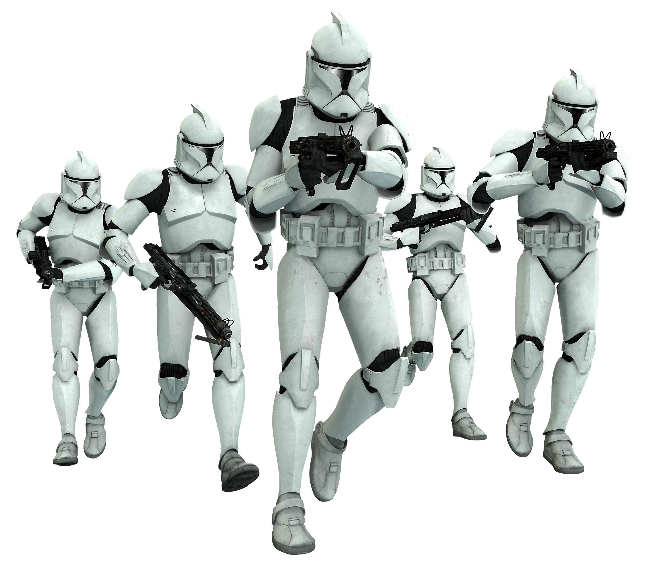 Soldado clon/Leyendas