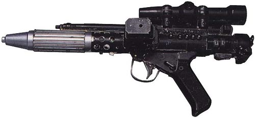 Pistola bláster DH-17/Leyendas