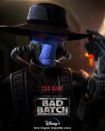 Star Wars The Bad Batch Cad Bane posterLA