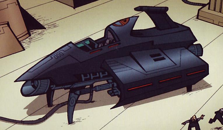 Prototipo especial de caza estelar de la Confederación de Sistemas Independientes