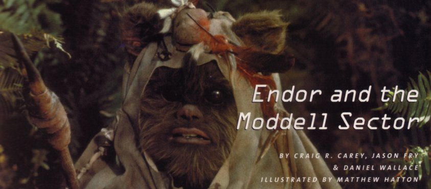 Endor and the Moddell Sector