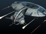 Cañonera droide HMP