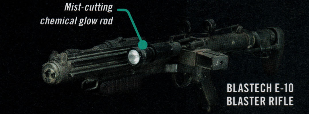 Rifle bláster E-10