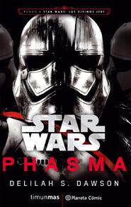 Phasma novel cover Spanish
