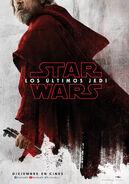 Mark Hamill Luke Skywalker Los Últimos Jedi Poster Teaser