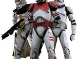 Armadura de soldado clon