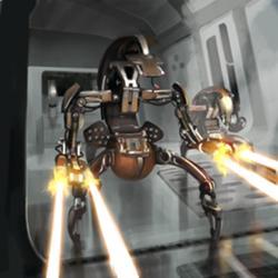 Droideka no identificado (Ejército Droide de IG-88)