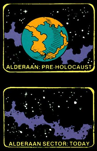 Sector Alderaan/Leyendas